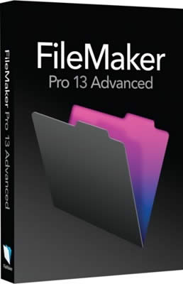 File maker Pro Advanced w pudełku
